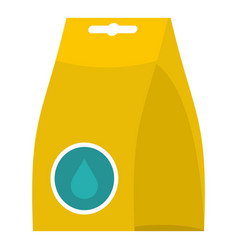 package icon flat style vector image