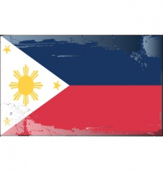 Philippines national flag vector image