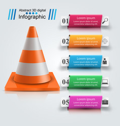 repair road infographic design template and vector image