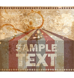 Retro Circus Tent Background vector