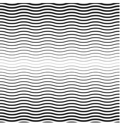 seamless halftone background wavy pattern vector image