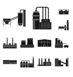 isolated object architecture and technology vector image