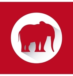 Republican political party animal vector