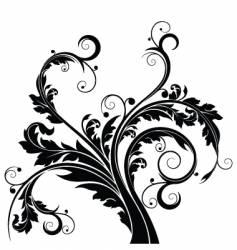 floral designs vector image