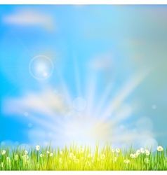 Spring or summer abstract nature EPS 10 vector image vector image