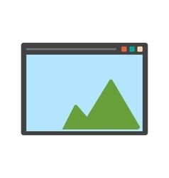 Drawing Pad vector image