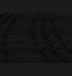Abstract black marble design perspective vector