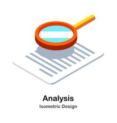 Analysis isometric vector