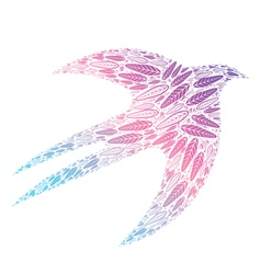 Bird feathers 1 vector