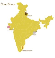 Char dham vector