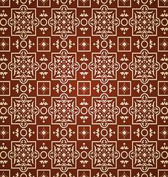 east pattern dark background vector image