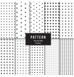 geometric pattern collection vector image
