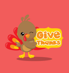 Gobble give thanks banner 01 vector