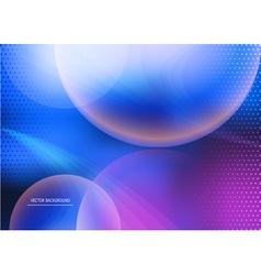 Interstellar background vector