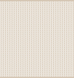 knitted fabric seamless pattern light beige vector image