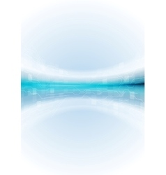 Light blue abstract tech background vector image