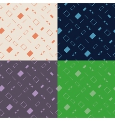 Modern flat gadgets pattern vector image
