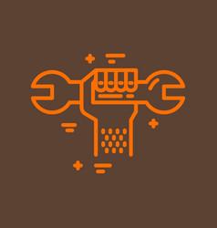 Plumbing service logo vector