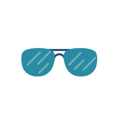 sunglasses related icon vector image