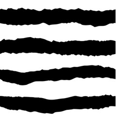 Tile pattern with black and white stripes vector