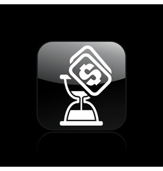 time cost icon vector image