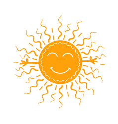 concept of carnival as the sun vector image vector image
