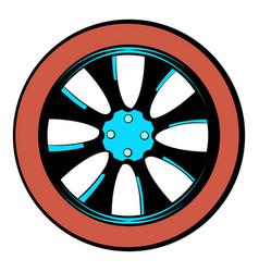 Rotor icon cartoon vector