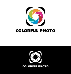 Colorful photo vector image