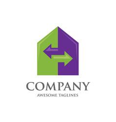 home renovation logo vector image