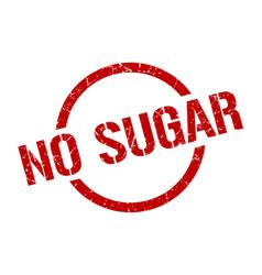 No sugar stamp vector