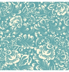 oklahoma style floral pattern vector image