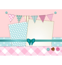 scrapbooking layout vector image