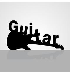 Guitar6 vector image