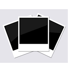 Instant Photographs vector image vector image