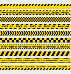 black and yellow stripes vector image