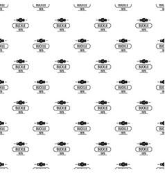 Buckle metal pattern seamless vector