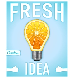 Fresh idea vector