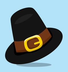 Gobble give thanks hat 08 vector