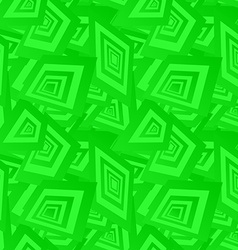 Green seamless rectangle pattern background vector