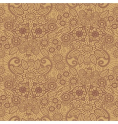 henna pattern vector image