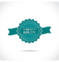 mark of best quality vector image
