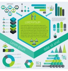 Meeting infographic elements vector