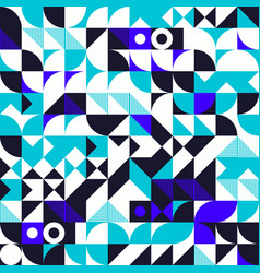 Minimalist background seamless pattern with simple vector