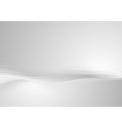 Shiny grey pearl abstract wavy background vector image