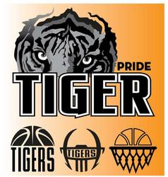 Tiger-pride vector