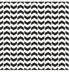 tile pattern with black arrows on white background vector image vector image