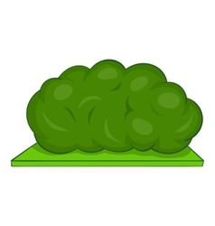 Bush icon cartoon style vector image vector image