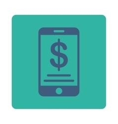 Mobile Wallet Icon vector image