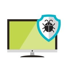 Virus attack vector image