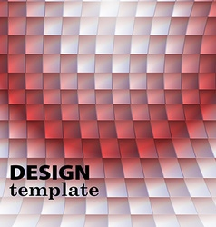 Red background abstract vector image vector image